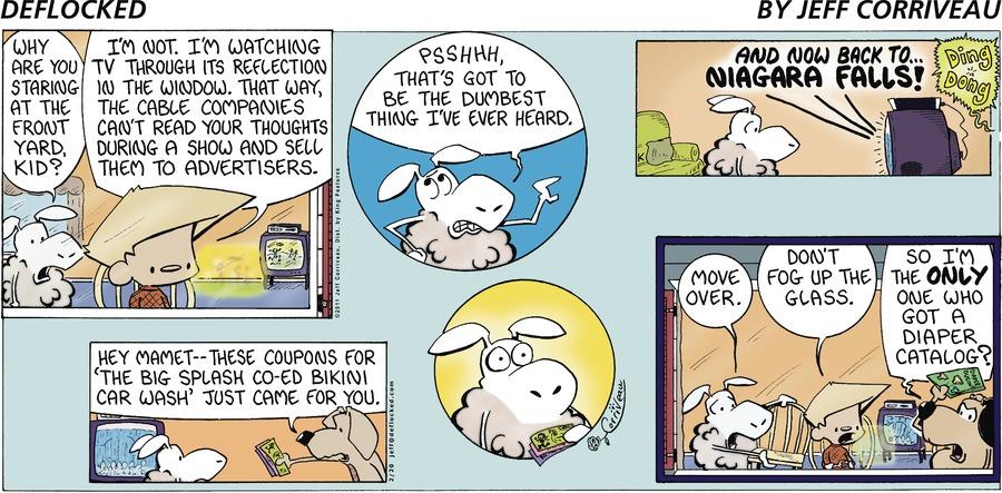 DeFlocked Comic Strip for February 20, 2011