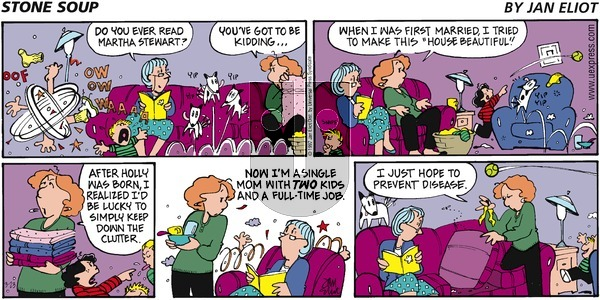 Stone Soup on Sunday March 23, 1997 Comic Strip