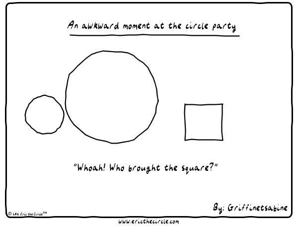 Eric the Circle for Jan 8, 2013 Comic Strip