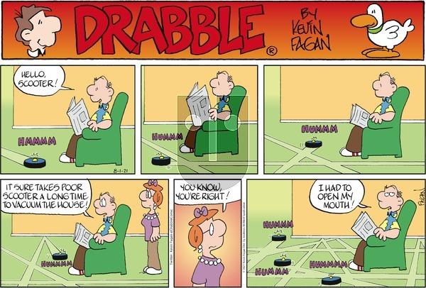 Drabble - Sunday August 1, 2021 Comic Strip