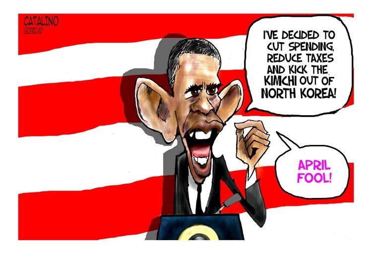 Ken Catalino for Apr 4, 2013 Comic Strip