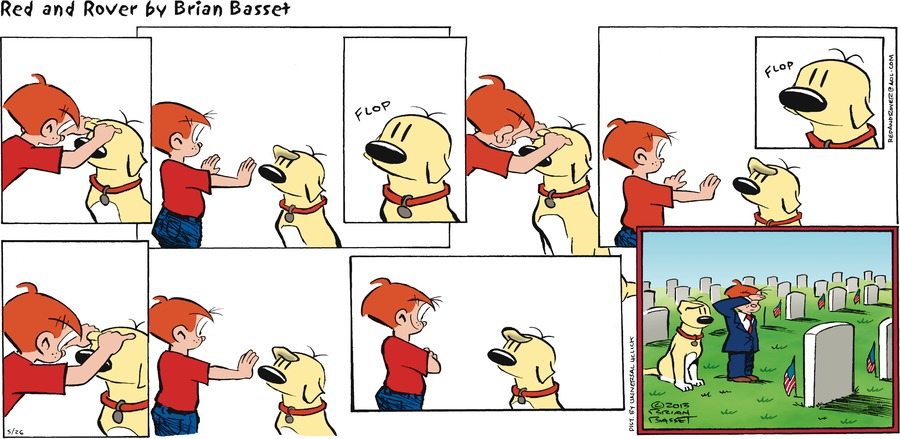 Red and Rover Comic Strip for May 26, 2013