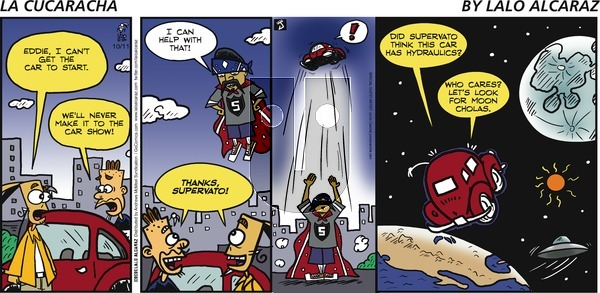 La Cucaracha on Sunday October 11, 2020 Comic Strip