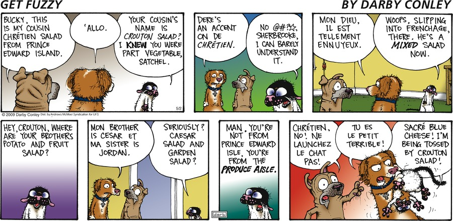 Get Fuzzy Comic Strip for May 02, 2021