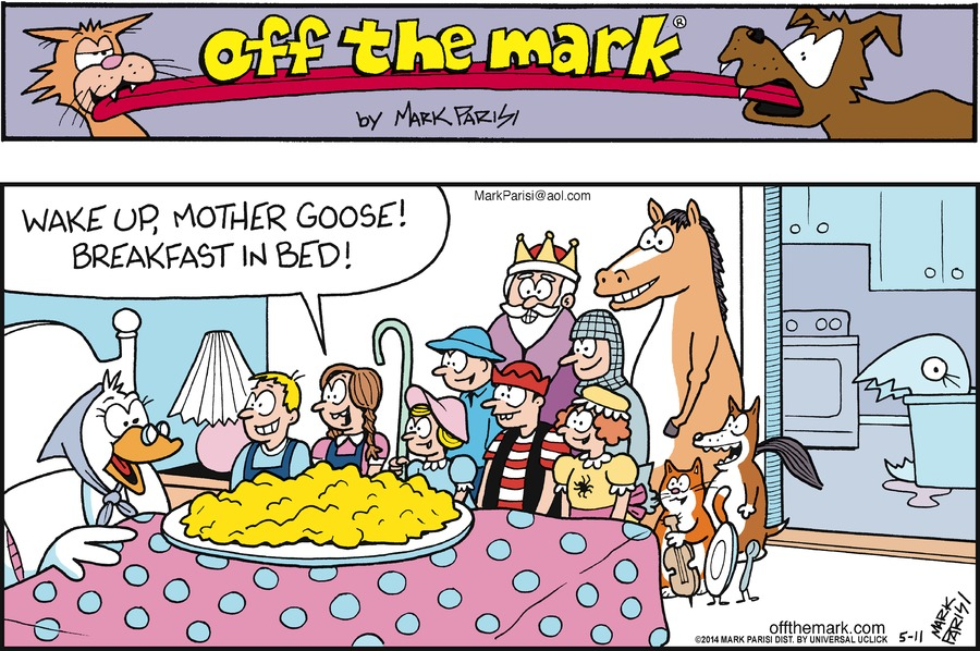 Off the Mark for May 11, 2014 Comic Strip