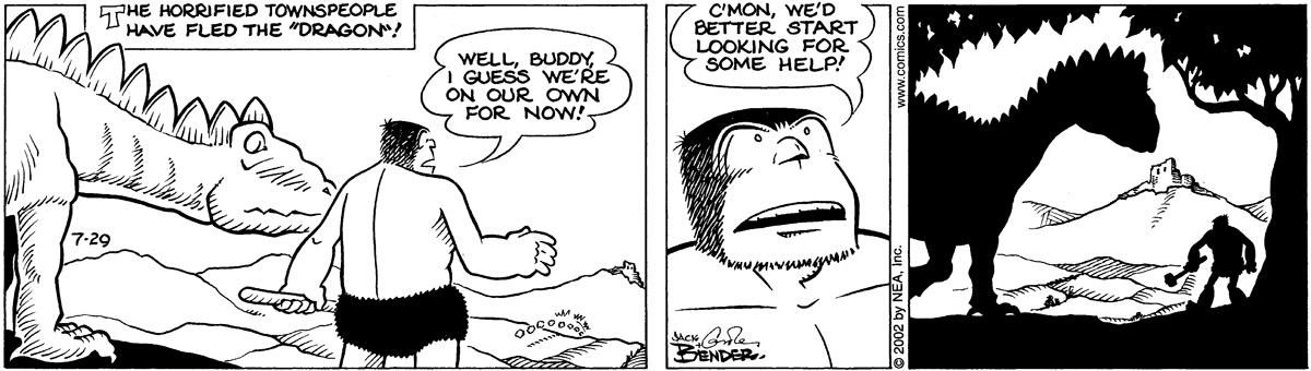 Alley Oop for Jul 29, 2002 Comic Strip