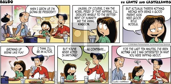 Baldo on Sunday August 17, 2008 Comic Strip
