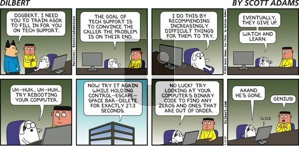 Dilbert - Sunday May 10, 2020 Comic Strip