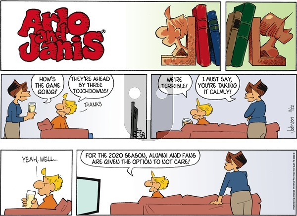 Arlo and Janis on Sunday November 22, 2020 Comic Strip