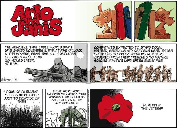 Arlo and Janis on Sunday November 11, 2018 Comic Strip
