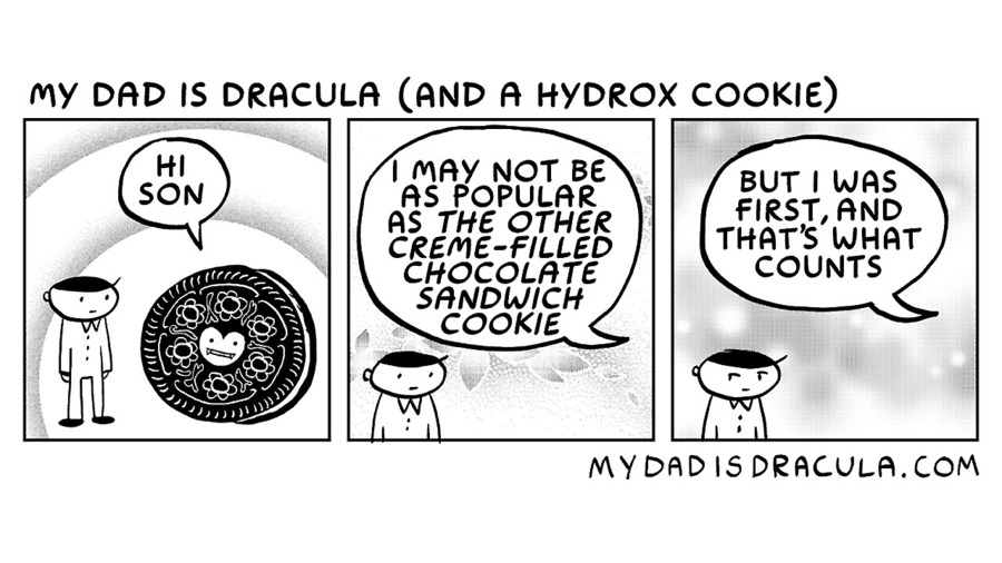 My Dad is Dracula Comic Strip for October 17, 2020