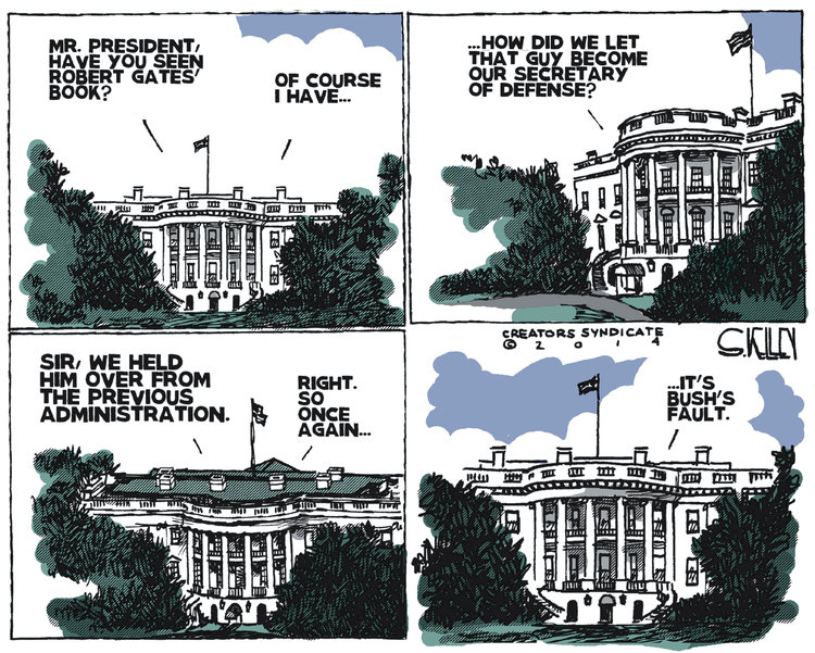 Steve Kelley Comic Strip for January 10, 2014