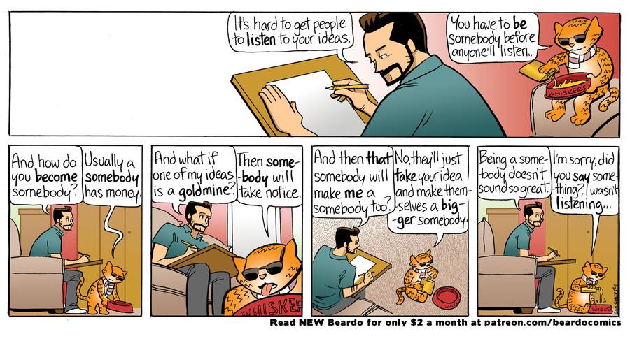 Beardo Comic Strip for August 30, 2021