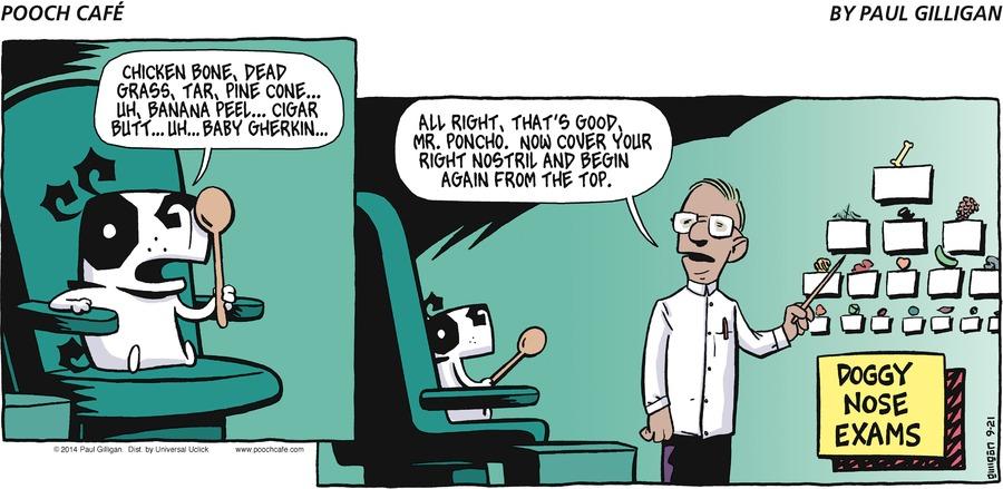 Pooch Cafe Comic Strip for September 21, 2014