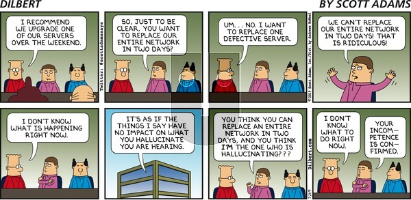 Dilbert on Sunday July 21, 2019 Comic Strip