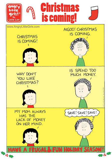 Angry Little Girls for Dec 4, 2017 Comic Strip