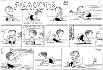 Peanuts (March 6, 1955)