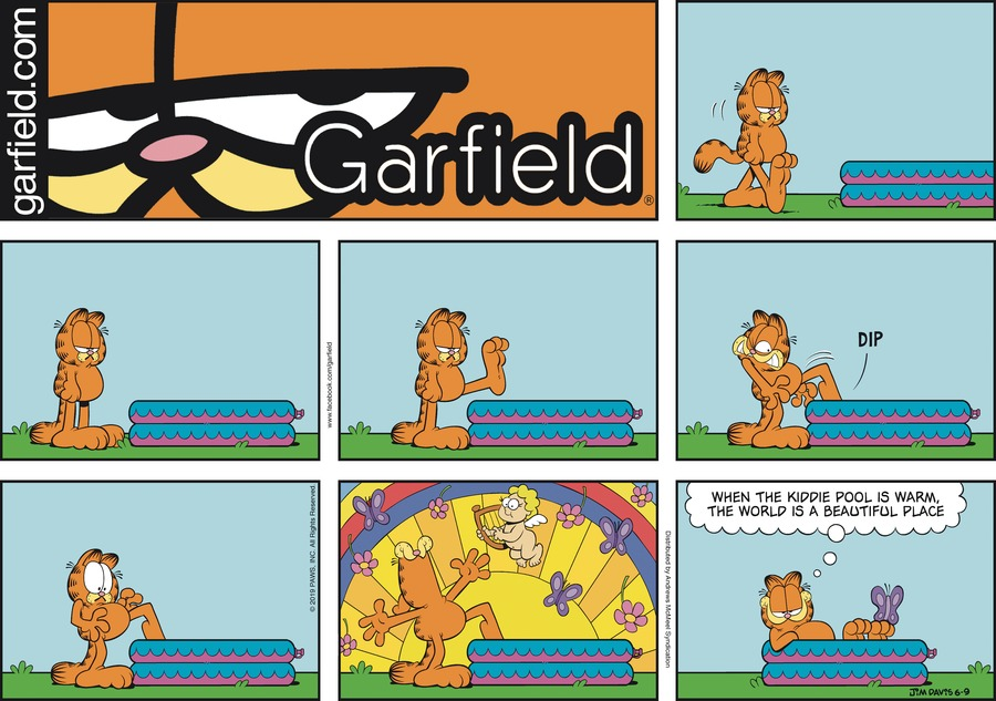 Garfield Comic Strip for June 09, 2019
