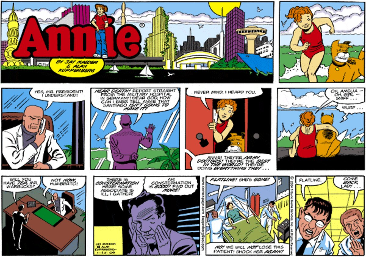 Annie Comic Strip for October 26, 2014