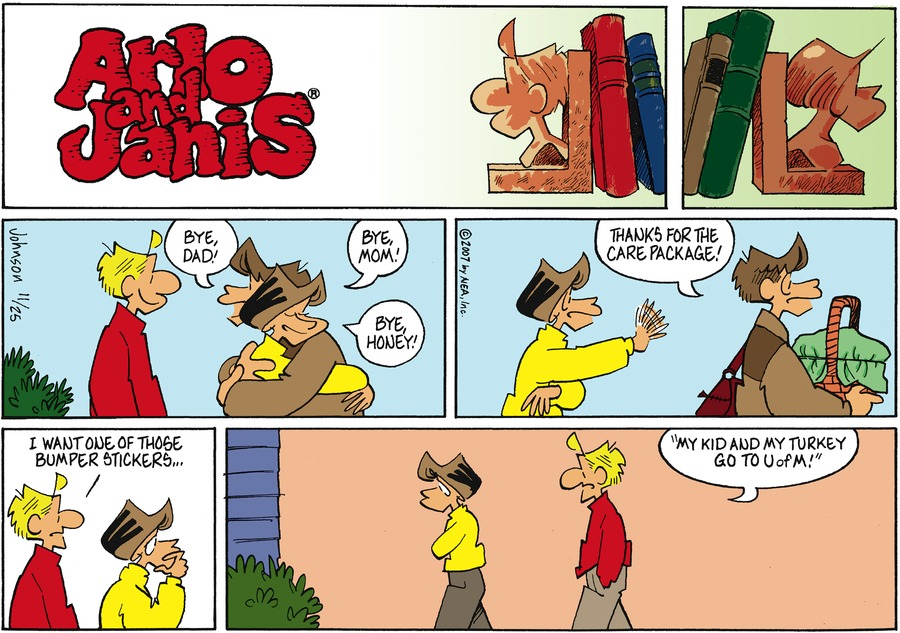 Arlo and Janis Comic Strip for November 25, 2007