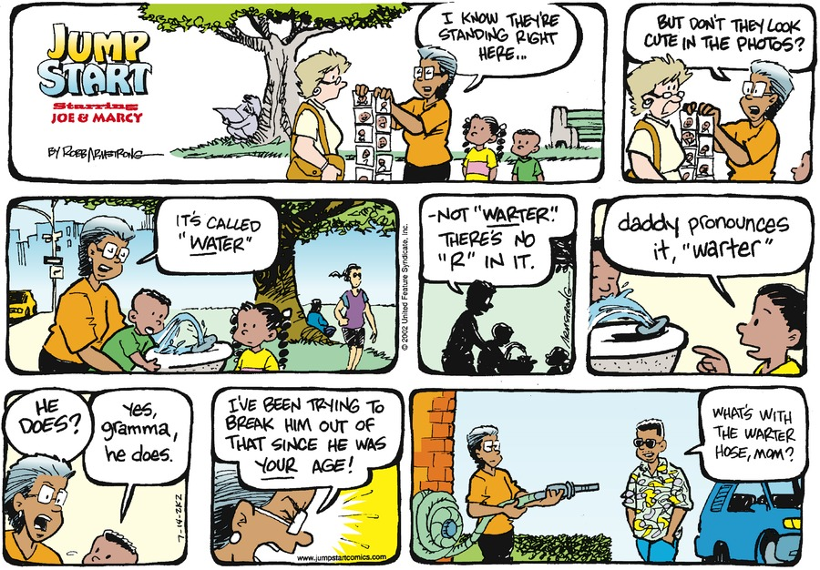 JumpStart Comic Strip for July 14, 2002