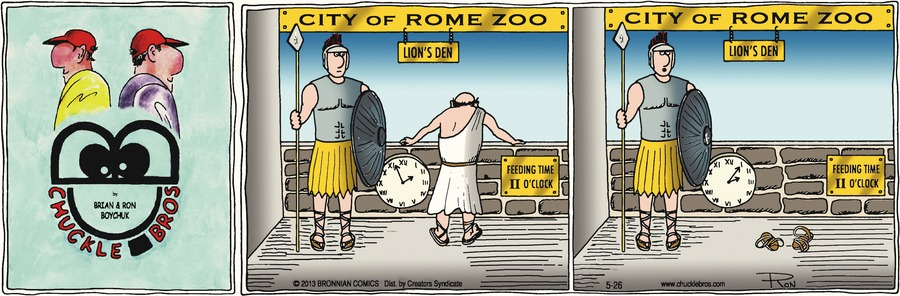 Chuckle Bros Comic Strip for May 26, 2013
