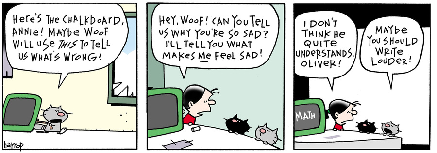 Ten Cats Comic Strip for March 31, 2016