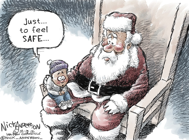 Nick Anderson for Dec 19, 2012 Comic Strip