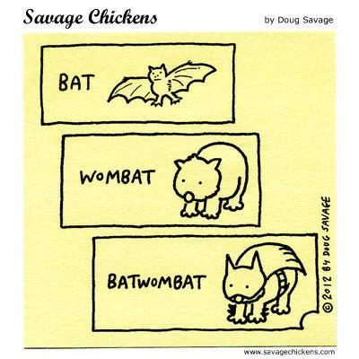Bat, Wombat,Batwombat