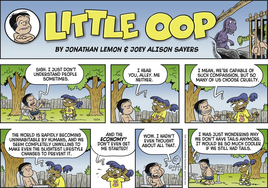 Alley Oop by Jonathan Lemon and Joey Alison Sayers on Sun, 24 Oct 2021