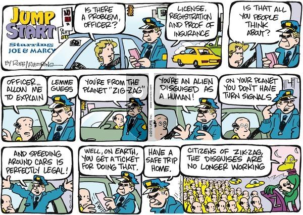 JumpStart on Sunday October 17, 2010 Comic Strip