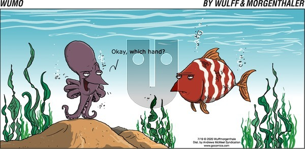 WuMo on Sunday July 19, 2020 Comic Strip