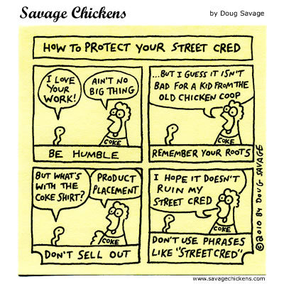Savage Chickens Comic Strip for January 16, 2014