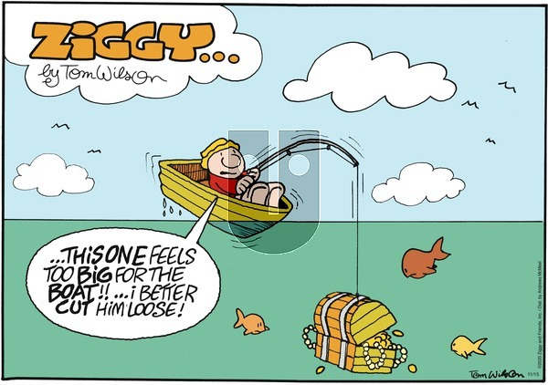 Ziggy on Sunday November 15, 2020 Comic Strip
