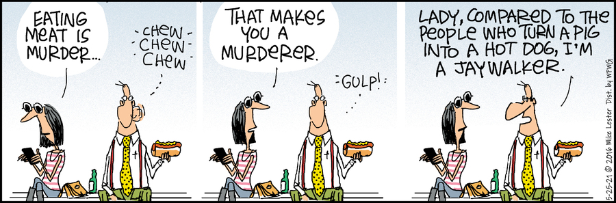 Mike du Jour Comic Strip for May 25, 2021