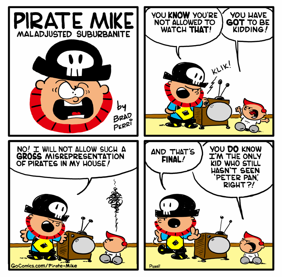 Pirate Mike by Brad Perri on Wed, 10 Jun 2020