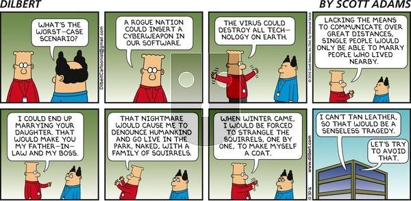 Dilbert on Sunday October 30, 2016 Comic Strip