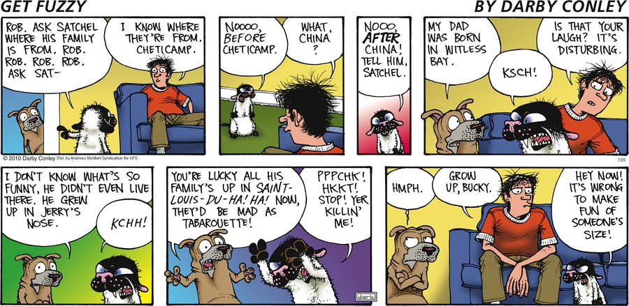 Get Fuzzy Comic Strip for July 25, 2021