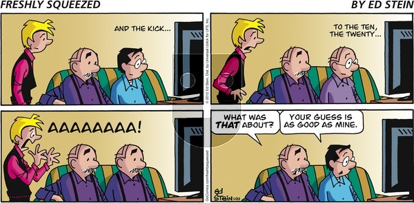 Freshly Squeezed on Sunday January 22, 2012 Comic Strip