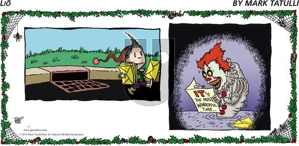 Lio on Sunday December 2, 2018 Comic Strip