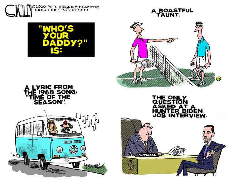 Steve Kelley Comic Strip for January 23, 2020