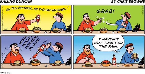 Raising Duncan Comic Strip for February 22, 2021