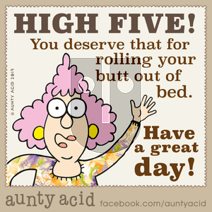 Aunty Acid on Monday December 16, 2019 Comic Strip