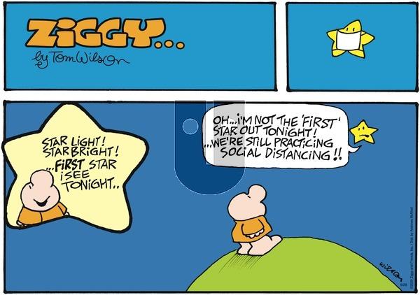 Ziggy on Sunday June 28, 2020 Comic Strip
