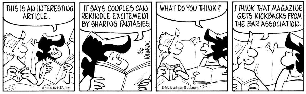 Arlo and Janis Comic Strip for March 04, 1996