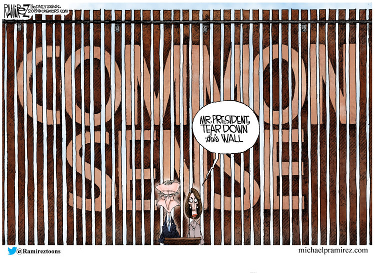Michael Ramirez Comic Strip for January 14, 2019