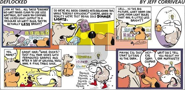 DeFlocked on Sunday March 15, 2015 Comic Strip