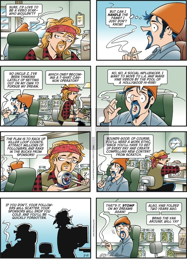 Doonesbury on Sunday February 11, 2018 Comic Strip