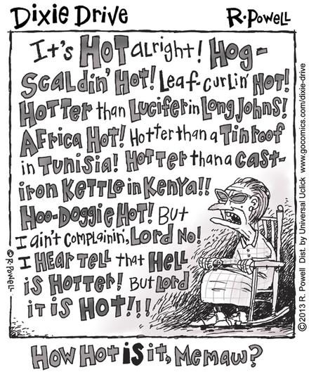 Wide Open for Jul 22, 2013 Comic Strip
