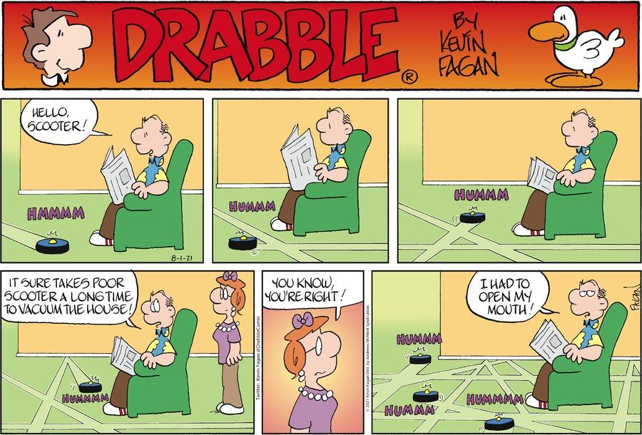 Drabble Comic Strip for August 01, 2021